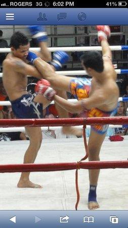 Ying yai muay thai: 1st round knock out