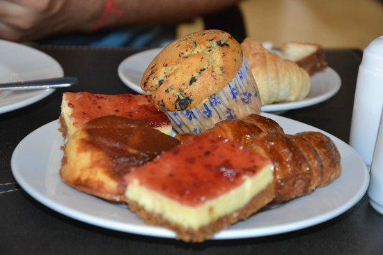 Uthgra Sasso Hotel: excelente desayuno