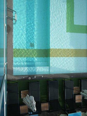New Dara Boutique Hotel & Residence : La piscine vue du balcon