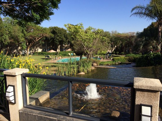 Protea Hotel Midrand : Beautiful Morning View