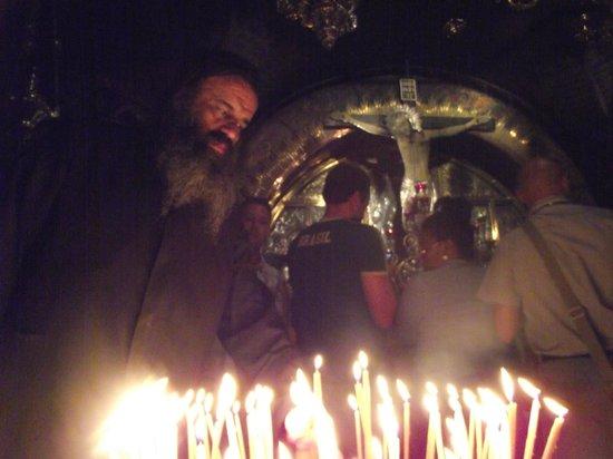 Olive Tree Hotel: gerusalemme - sacro sepolcro - cappella del golgota