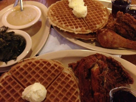 Roscoe's House of Chicken & Waffles : Delicious!