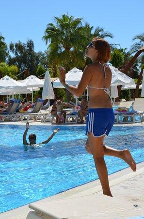 Saphir Resort & Spa: Morning training