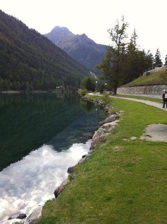 Hotel du Glacier : Balade autour du lac Champex