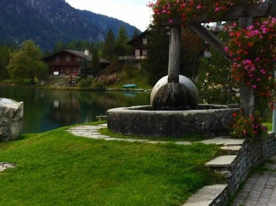 Hotel du Glacier : Lac De Champex