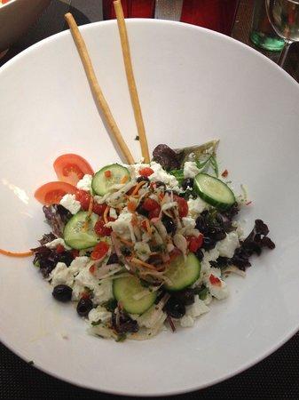 Hotel International : Salade grec dans la formule thalassotel