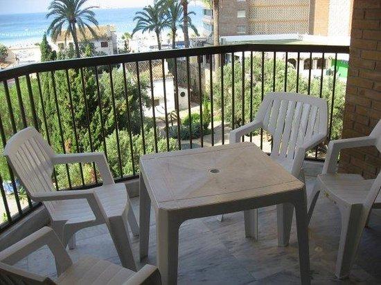 Apartamentos Oasis Benidorm : View