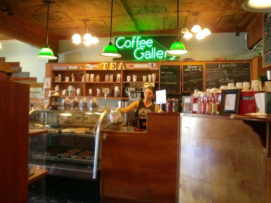 Coffee Gallery: 店内のインテリア