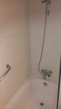 Cordial Mogan Valle: Shower, only thing in apartment which needs replacing.