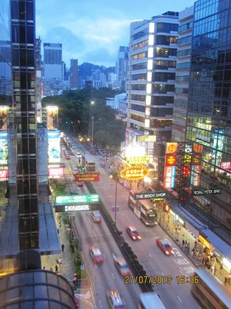 Prudential Hotel: View from Balcony.