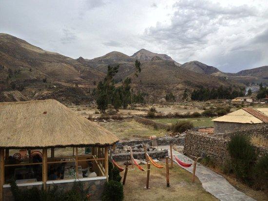 Killawasi Lodge: La vista desde nuestro balcon
