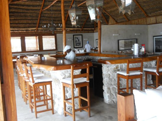 Rio Azul Lodge: Stunning bar with Shadryk