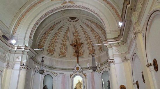 San Fili italia volta della Madonna del Carmine