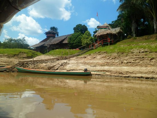 Amazon Rainforest Lodge: Al llegar al albergue