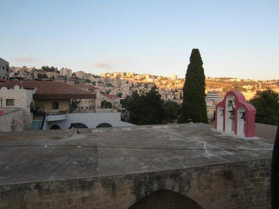 Al-Mutran Guest House: View from veranda