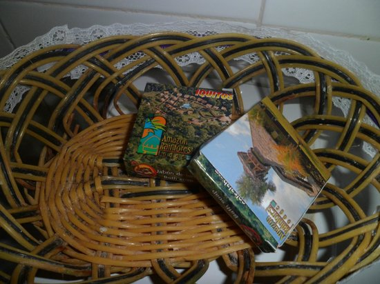 Amazon Rainforest Lodge: Jabones del hotel