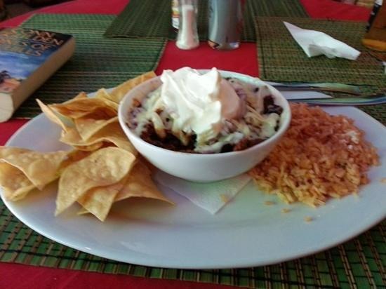 Taqueria Corona Restaurant: chilli