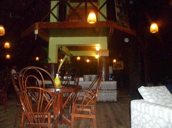 Amazon Rainforest Lodge: Por la noche