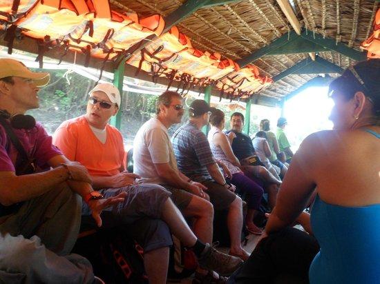 Amazon Rainforest Lodge: Al retornar a Iquitos ciudad
