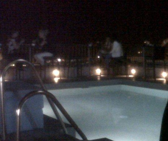 Hotel Molina Lario: Terraza Lounge