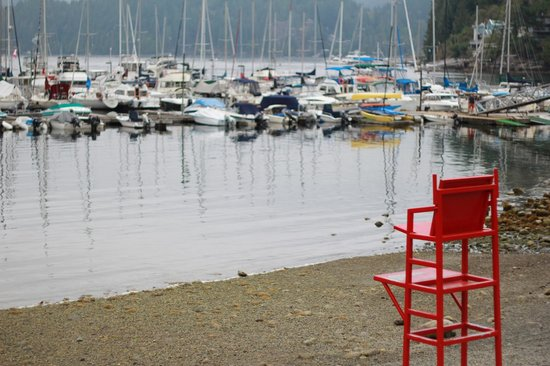 Deep Cove : sit and reflect a moment