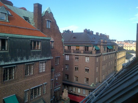 ProfilHotels Hotel Riddargatan : view from room