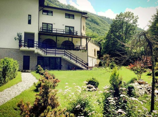 Casa Lacului: View from the park
