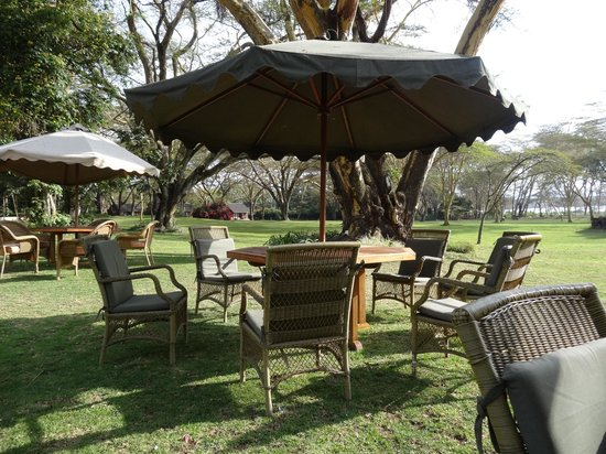 Lake Naivasha Country Club-Sun Africa Hotels : Place to eat outside