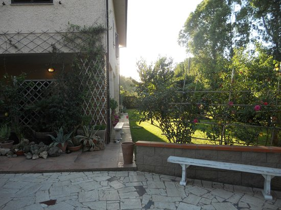 Villa Mariel Relais: L'entrata