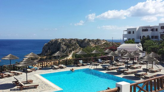 Aegean Village Hotel & Bungalows: View from the hotel