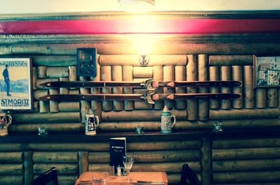 St. Moritz Restaurant: Sking in Buxton