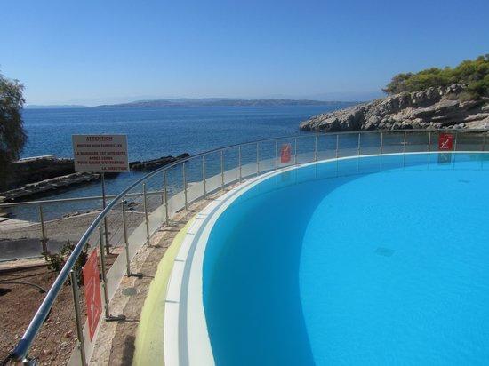 Club Marmara Lena Mary : Vue de la piscine du bas