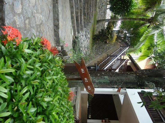 NovaSamui Resort Koh Samui: way to our room