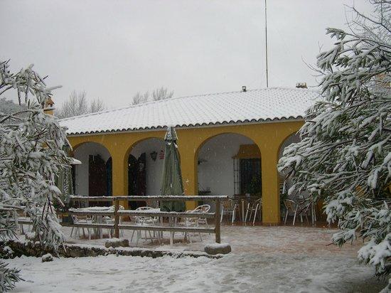 Restaurante huerta del rey nevado picture of for Piscina huerta del rey