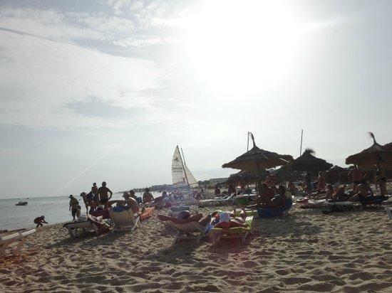 Le Zenith Hotel: Пляж