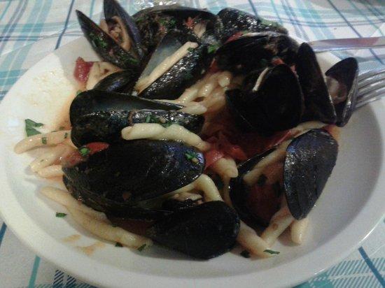 Bianca ZIta Ristorante Enoteca: Pasta fresca cozze e pomodorini