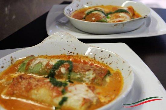 Passione D'Italia: Cannelloni di ricotta e spinaci.