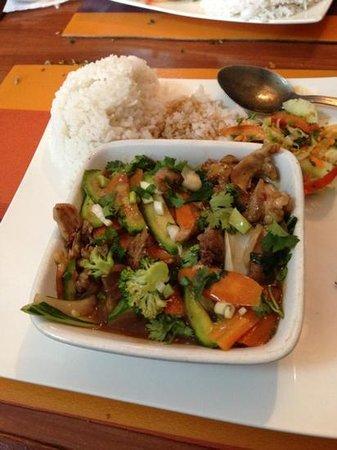 CHANTACO: porc sauté aux legume
