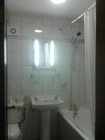 Eviston House Hotel : Clean bathroom/shower