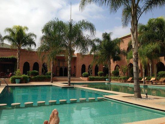 Palais Aziza & Spa: pool area