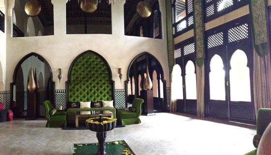 Palais Aziza & Spa: lobby