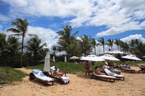 Villas de Trancoso Hotel: Plage