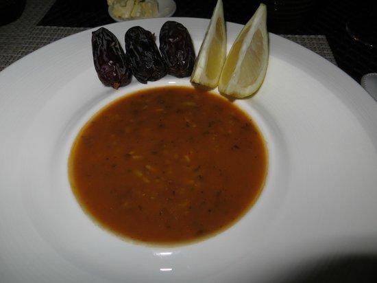 Palais Aziza & Spa : dinner at the hotel's restaurant