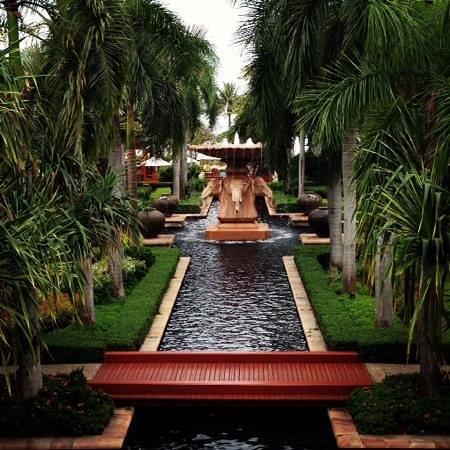 Hyatt Regency Hua Hin: View from the Lobby