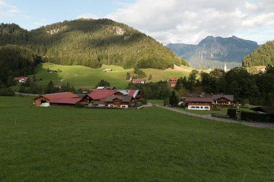 Berghof Rietzler: Blick aus dem Zimmer