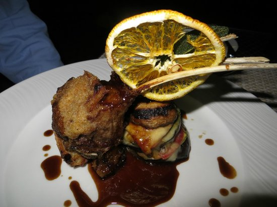 Palais Aziza & Spa: dinner at the hotel's restaurant