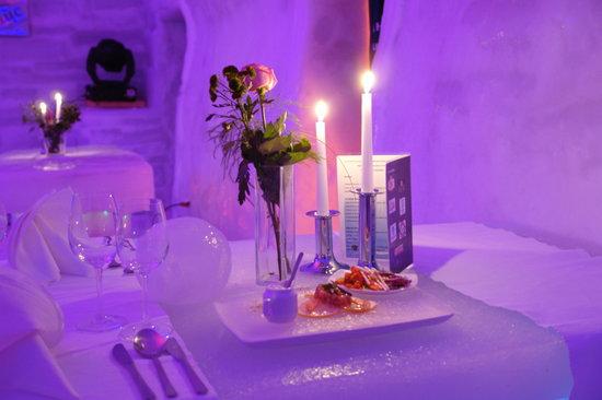 Hotel of Ice Restaurant