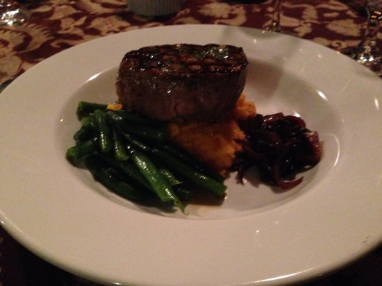 Scotland Island Lodge : Best fillet steak!