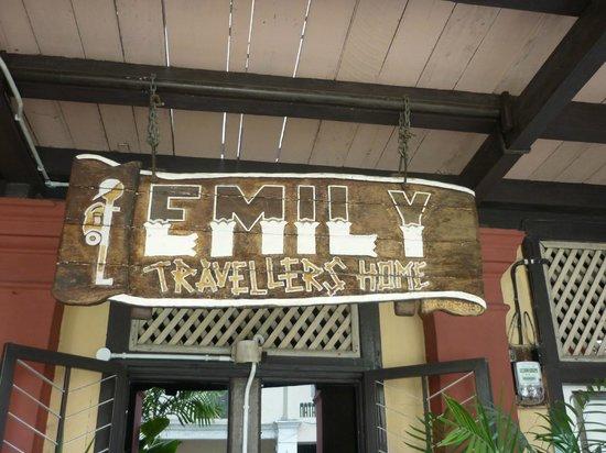 Emily Travellers' Home : Une enseigne à conseiller!