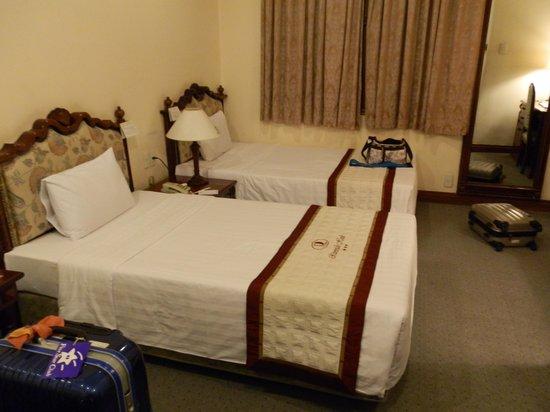 Riverside Hotel Saigon: 客室です